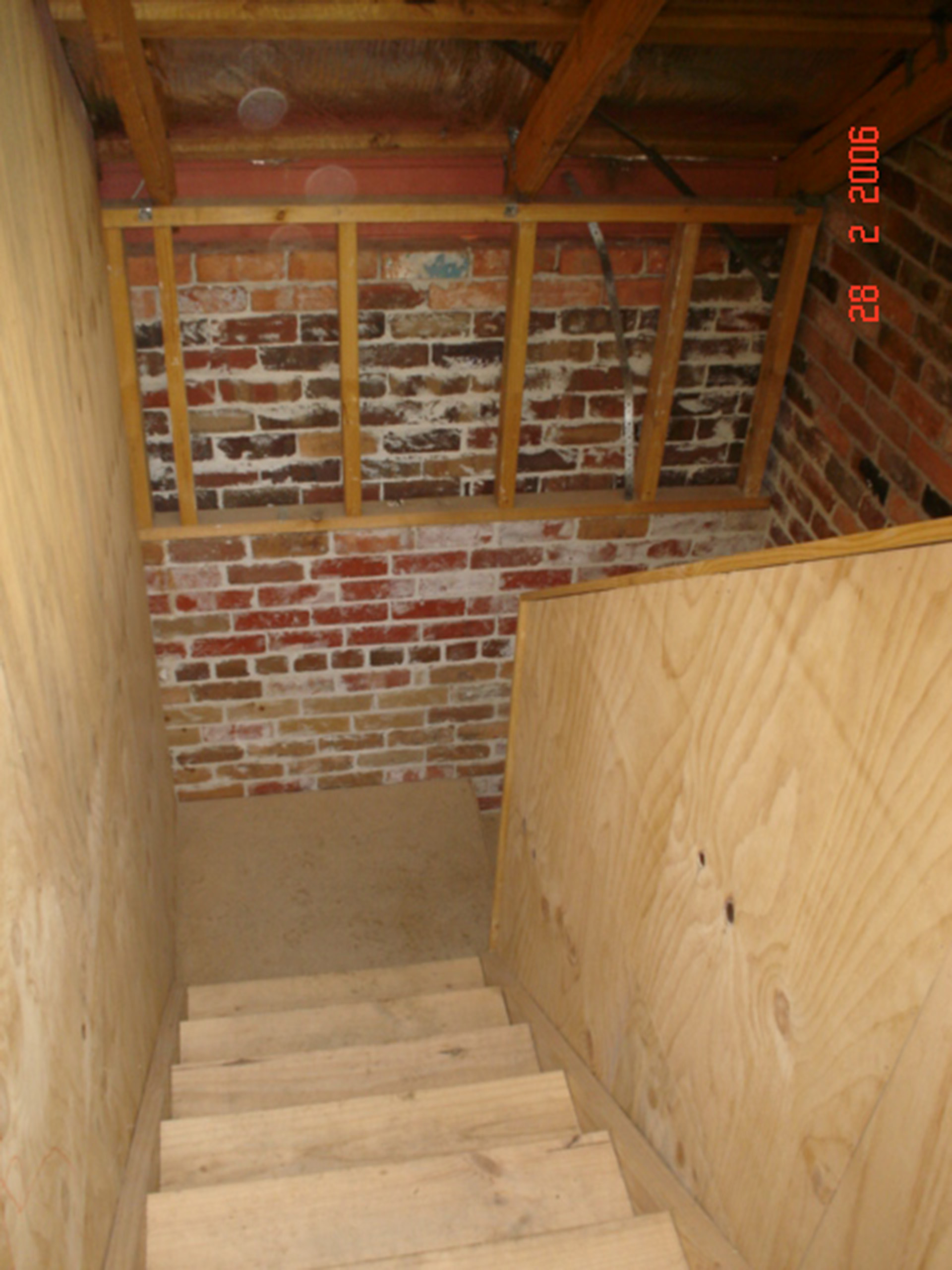Loft staircase - Before