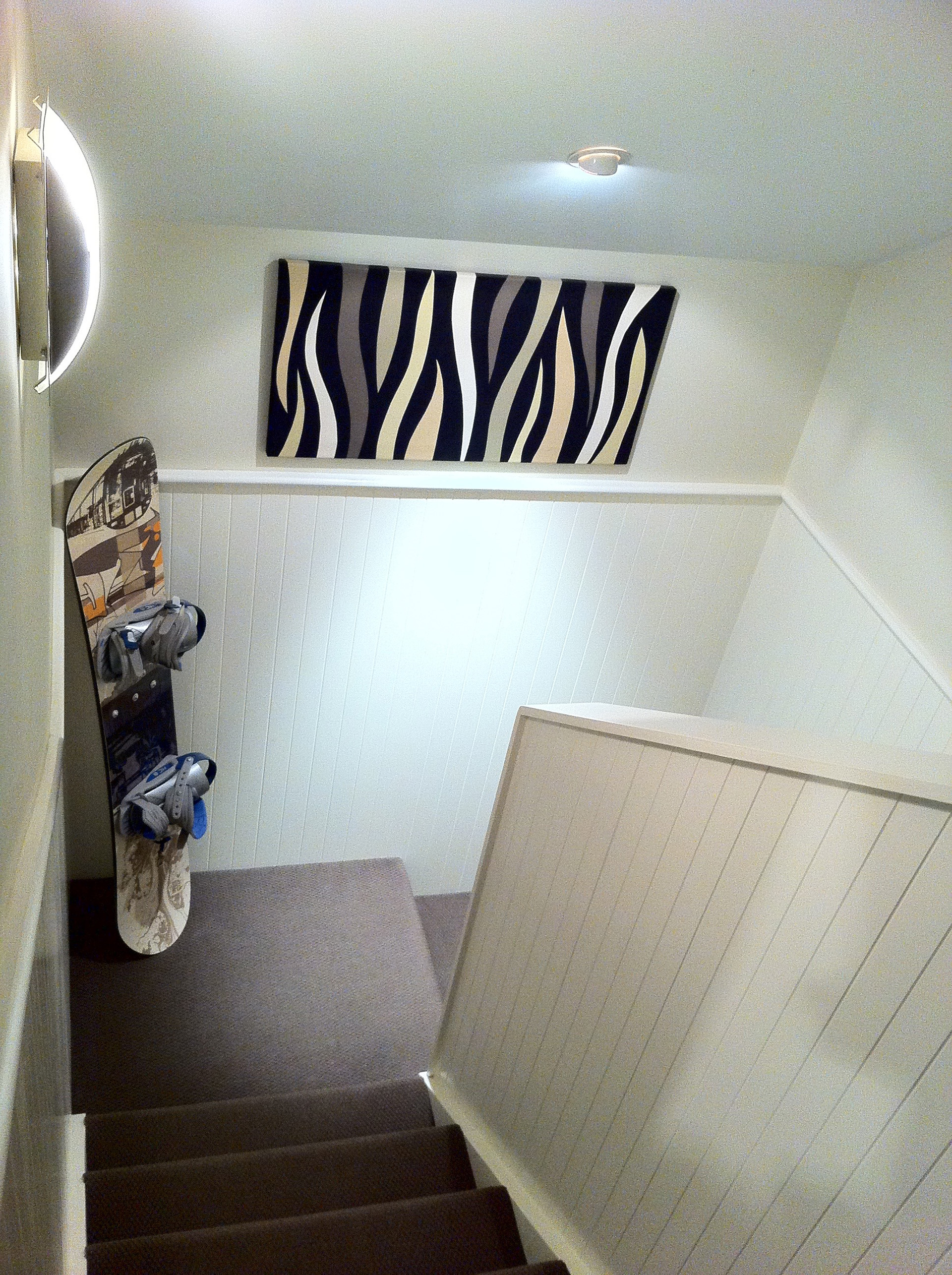 Loft staircase - After